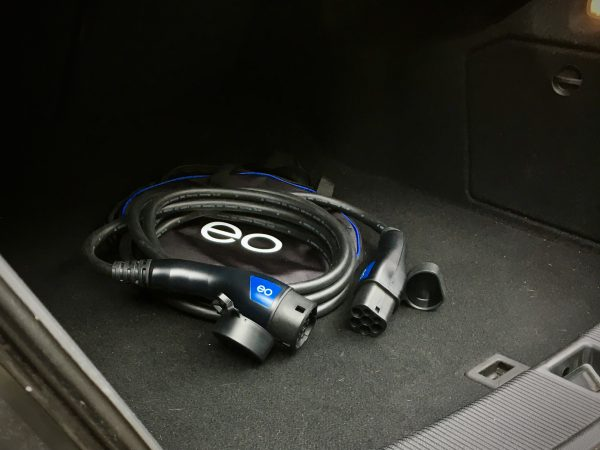 EO Charging cable in boot