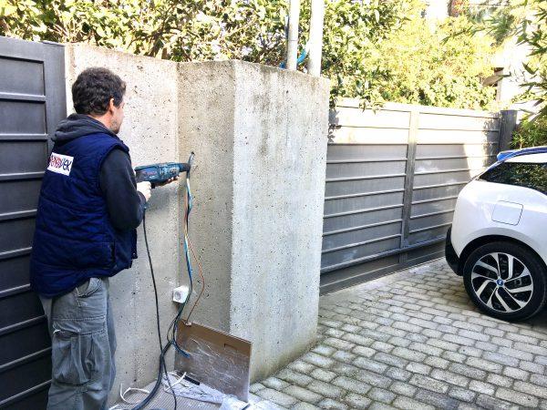 BMW Wallbox installation